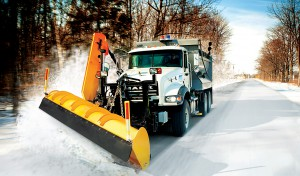 Mack Snow Plow